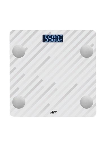 MF Product MF Product Allure 0532 Vücut Analizli Akıllı Tartı Beyaz Renkli